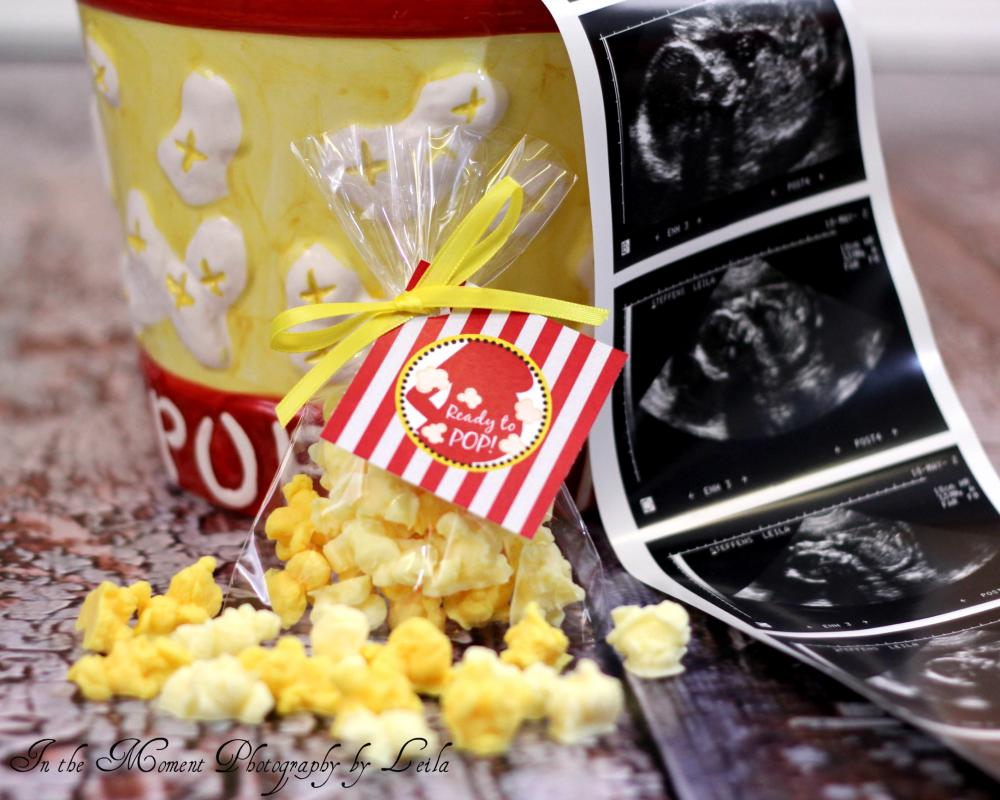POPCORN SOAP FAVORS (10 Favors) - Great for a About to Pop or Cravings Baby Shower, Circus or Carnival Birthday Party or Bridal Wedding